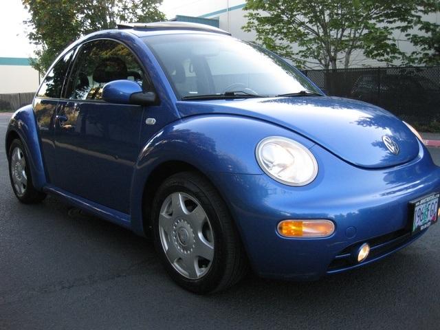 2001 Volkswagen Beetle Gls Tdi Turbo Diesel 4 Cyl Auto Moon Roof