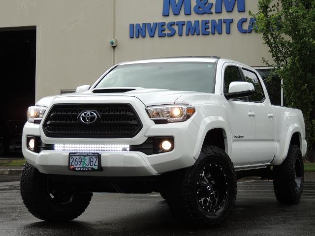 2016 Toyota Tacoma TRD Sport / 4X4 / Navi / Sunroof / LOADED / LIFTED - Photo 51 - Portland, OR 97217