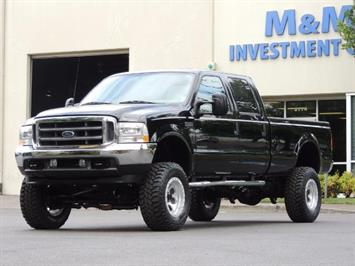 2001 Ford F-350 Super Duty Lariat / 4X4 / 7.3L DIESEL / LIFTED Truck