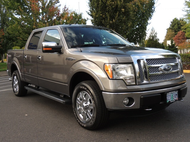2012 ford f 150 lariat 4x4 leather navigation 22k miles. Black Bedroom Furniture Sets. Home Design Ideas