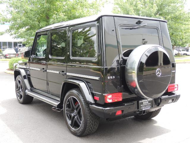2015 Mercedes-Benz G-Class G63 AMG / AWD  / 1-OWNER / WARRANTY - Photo 7 - Portland, OR 97217