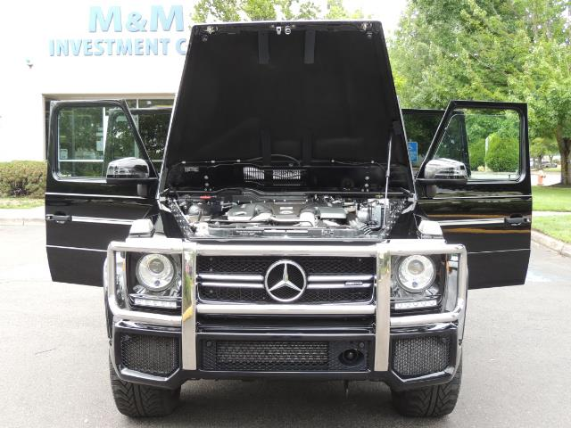 2015 Mercedes-Benz G-Class G63 AMG / AWD  / 1-OWNER / WARRANTY - Photo 35 - Portland, OR 97217