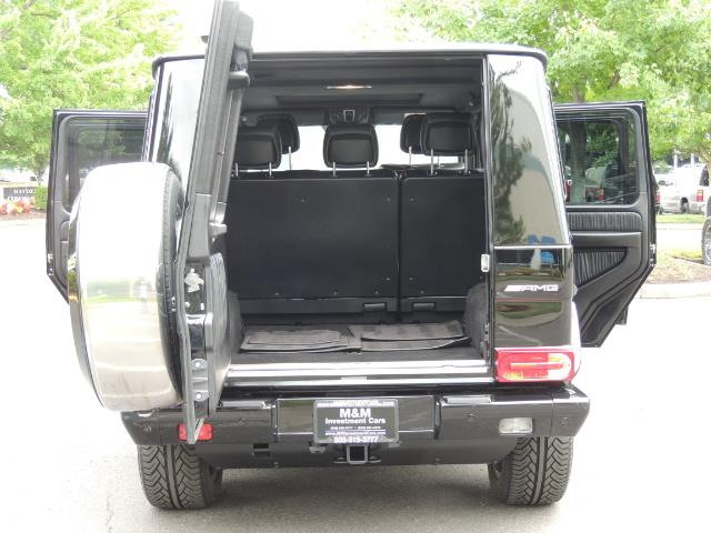 2015 Mercedes-Benz G-Class G63 AMG / AWD  / 1-OWNER / WARRANTY - Photo 19 - Portland, OR 97217