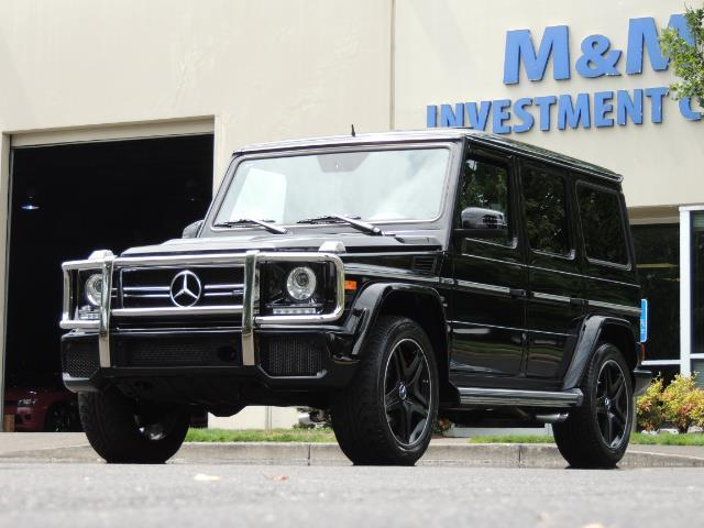 2015 Mercedes-Benz G-Class G63 AMG / AWD  / 1-OWNER / WARRANTY - Photo 57 - Portland, OR 97217