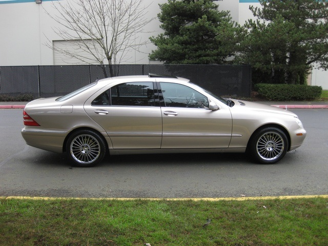 2002 mercedes benz s430 sedan lwb navigation records amg for 2002 s430 mercedes benz