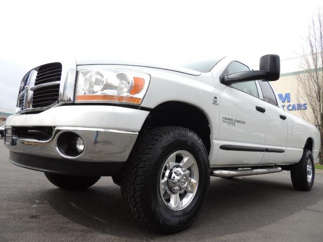 2006 Dodge Ram 2500 BIG HORN 4X4 5.9 L CUMMINS Diesel 6 SPEED 83K MLS - Photo 9 - Portland, OR 97217