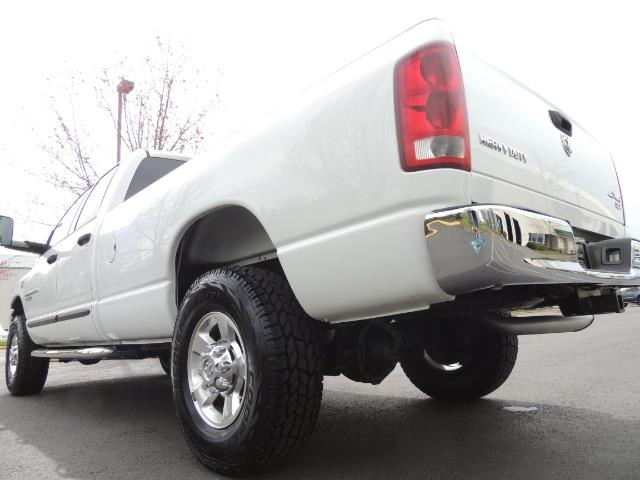 2006 Dodge Ram 2500 BIG HORN 4X4 5.9 L CUMMINS Diesel 6 SPEED 83K MLS - Photo 11 - Portland, OR 97217