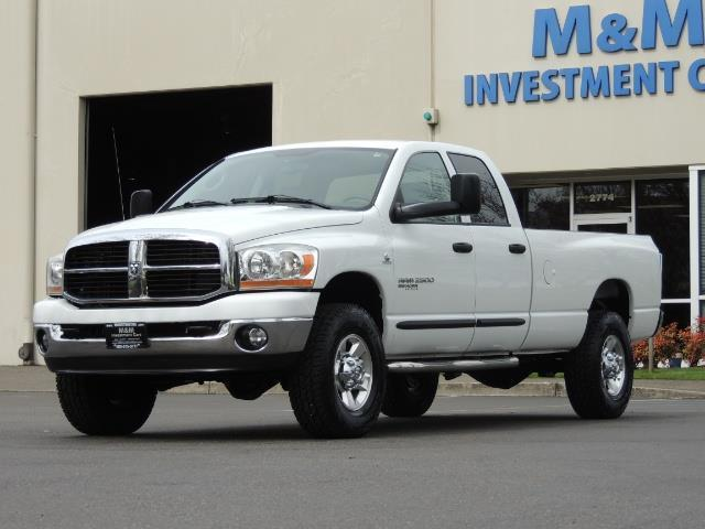 2006 Dodge Ram 2500 BIG HORN 4X4 5.9 L CUMMINS Diesel 6 SPEED 83K MLS - Photo 36 - Portland, OR 97217