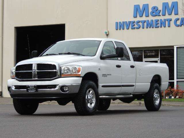 2006 Dodge Ram 2500 BIG HORN 4X4 5.9 L CUMMINS Diesel 6 SPEED 83K MLS - Photo 1 - Portland, OR 97217
