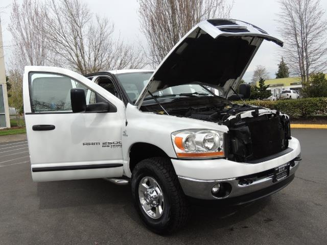 2006 Dodge Ram 2500 BIG HORN 4X4 5.9 L CUMMINS Diesel 6 SPEED 83K MLS - Photo 33 - Portland, OR 97217