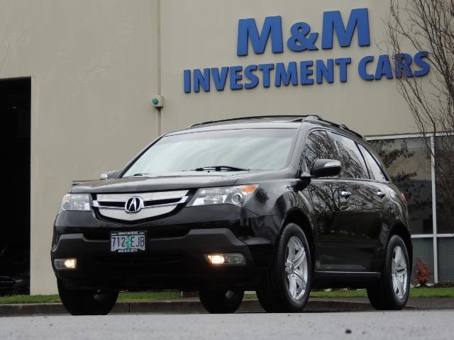 2008 Acura MDX SH-AWD / Tech Pkg / NAVIGATION / Rear View CAM - Photo 47 - Portland, OR 97217