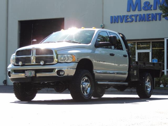 2004 Dodge Ram 3500 Laramie FLAT BED 4X4 / 5.9L Cummins DIESEL 6-SPEED - Photo 27 - Portland, OR 97217