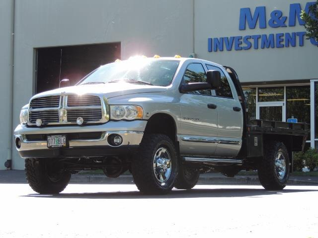 2004 Dodge Ram 3500 Laramie FLAT BED 4X4 / 5.9L Cummins DIESEL 6-SPEED - Photo 31 - Portland, OR 97217