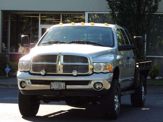 2004 Dodge Ram 3500 Laramie FLAT BED 4X4 / 5.9L Cummins DIESEL 6-SPEED - Photo 29 - Portland, OR 97217