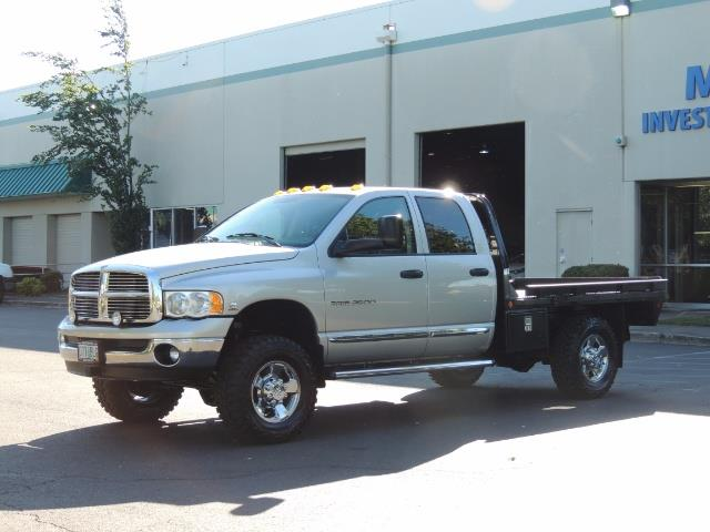 2004 Dodge Ram 3500 Laramie FLAT BED 4X4 / 5.9L Cummins DIESEL 6-SPEED - Photo 25 - Portland, OR 97217