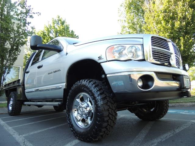 2004 Dodge Ram 3500 Laramie FLAT BED 4X4 / 5.9L Cummins DIESEL 6-SPEED - Photo 10 - Portland, OR 97217
