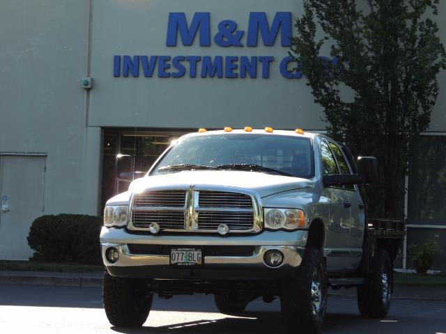 2004 Dodge Ram 3500 Laramie FLAT BED 4X4 / 5.9L Cummins DIESEL 6-SPEED - Photo 28 - Portland, OR 97217