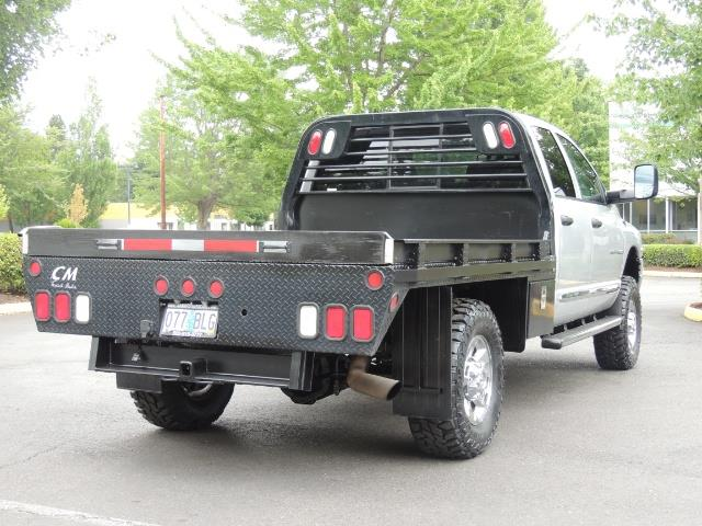 2004 Dodge Ram 3500 Laramie FLAT BED 4X4 / 5.9L Cummins DIESEL 6-SPEED - Photo 8 - Portland, OR 97217