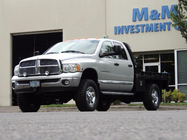 2004 Dodge Ram 3500 Laramie FLAT BED 4X4 / 5.9L Cummins DIESEL 6-SPEED - Photo 52 - Portland, OR 97217