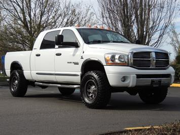 2006 Dodge Ram 3500 Laramie MegaCab / 4X4 / 5.9L DIESEL / Leather Truck