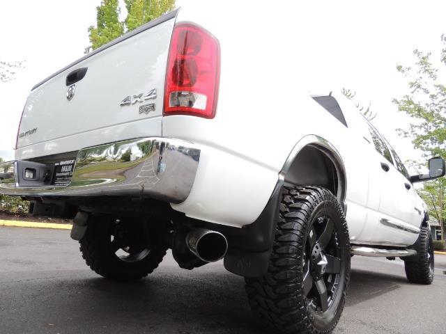 2006 Dodge Ram 3500 Laramie MegaCab / 4X4 /5.9L DIESEL/ EXHAUST BRAKE - Photo 12 - Portland, OR 97217