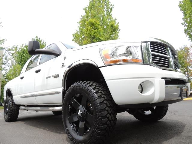 2006 Dodge Ram 3500 Laramie MegaCab / 4X4 /5.9L DIESEL/ EXHAUST BRAKE - Photo 10 - Portland, OR 97217