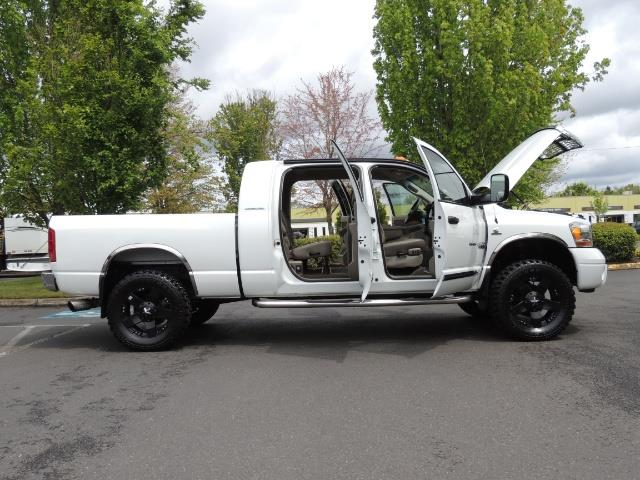 2006 Dodge Ram 3500 Laramie MegaCab / 4X4 /5.9L DIESEL/ EXHAUST BRAKE - Photo 24 - Portland, OR 97217