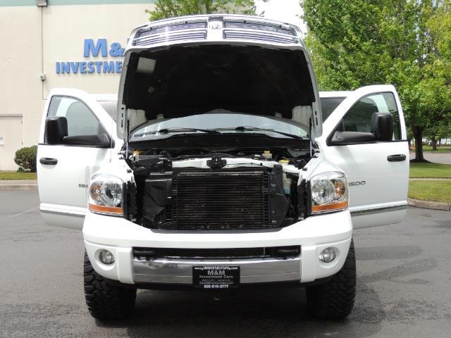 2006 Dodge Ram 3500 Laramie MegaCab / 4X4 /5.9L DIESEL/ EXHAUST BRAKE - Photo 31 - Portland, OR 97217