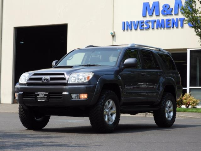 2005 Toyota 4Runner SPORT Edition / 4WD / DIFF LOCK / LIFTED !!! - Photo 42 - Portland, OR 97217