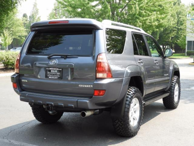 2005 Toyota 4Runner SPORT Edition / 4WD / DIFF LOCK / LIFTED !!! - Photo 8 - Portland, OR 97217