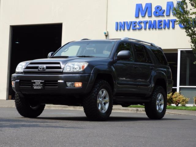 2005 Toyota 4Runner SPORT Edition / 4WD / DIFF LOCK / LIFTED !!! - Photo 1 - Portland, OR 97217