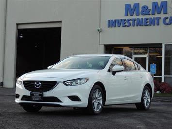 2016 Mazda Mazda6 i Sport / Sedan / 4Cyl / Backup Camera / New Tires Sedan