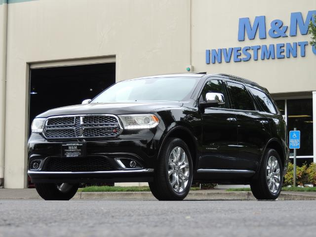 2017 Dodge Durango Citadel / AWD / Navigation / 3RD Seat / Excel Cond - Photo 52 - Portland, OR 97217