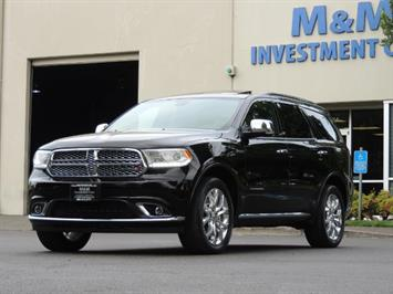 2017 Dodge Durango Citadel / AWD / Navigation / 3RD Seat / Excel Cond SUV