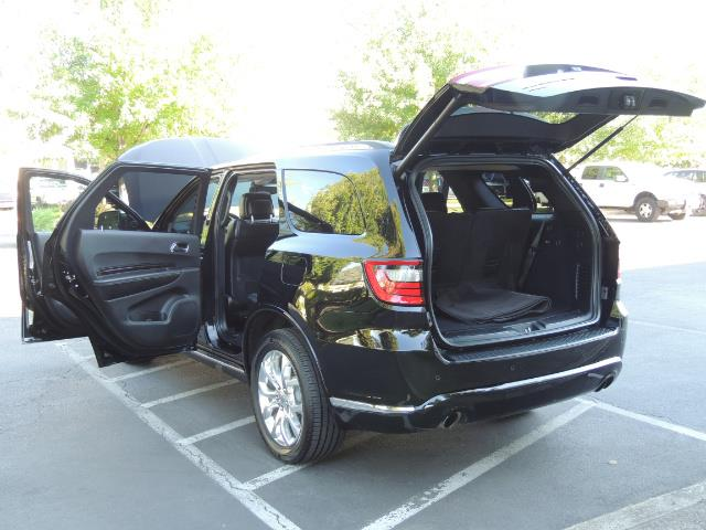 2017 Dodge Durango Citadel / AWD / Navigation / 3RD Seat / Excel Cond - Photo 26 - Portland, OR 97217