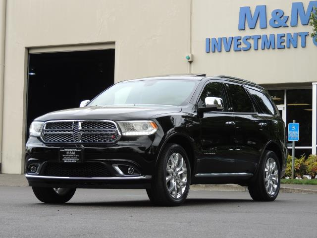 2017 Dodge Durango Citadel / AWD / Navigation / 3RD Seat / Excel Cond - Photo 55 - Portland, OR 97217