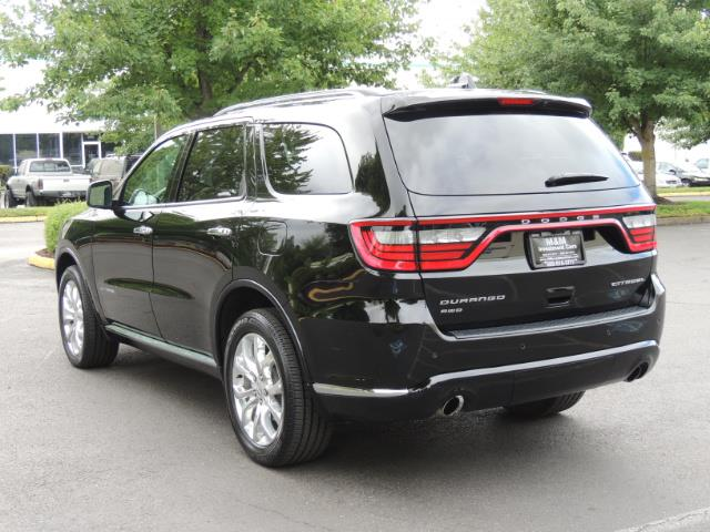 2017 Dodge Durango Citadel / AWD / Navigation / 3RD Seat / Excel Cond - Photo 7 - Portland, OR 97217
