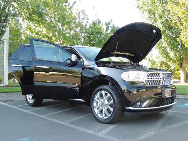 2017 Dodge Durango Citadel / AWD / Navigation / 3RD Seat / Excel Cond - Photo 30 - Portland, OR 97217