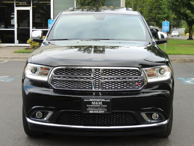 2017 Dodge Durango Citadel / AWD / Navigation / 3RD Seat / Excel Cond - Photo 5 - Portland, OR 97217