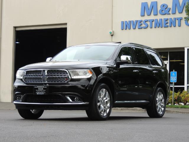 2017 Dodge Durango Citadel / AWD / Navigation / 3RD Seat / Excel Cond - Photo 54 - Portland, OR 97217