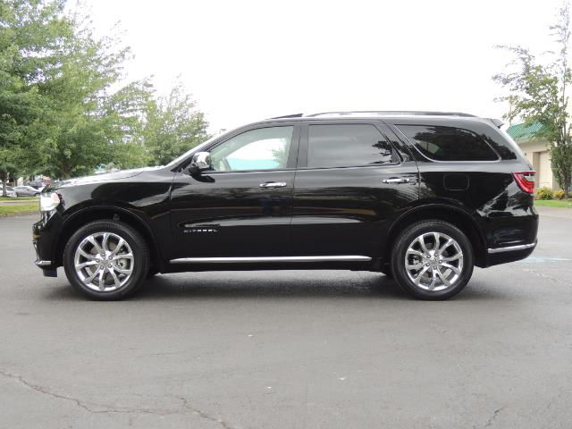 2017 Dodge Durango Citadel / AWD / Navigation / 3RD Seat / Excel Cond - Photo 3 - Portland, OR 97217