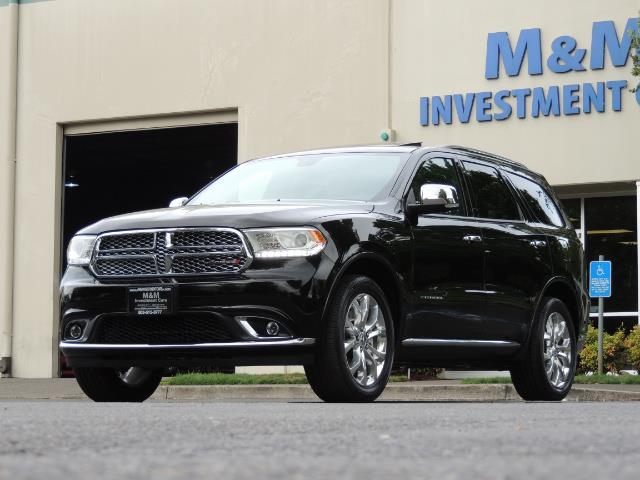 2017 Dodge Durango Citadel / AWD / Navigation / 3RD Seat / Excel Cond - Photo 51 - Portland, OR 97217