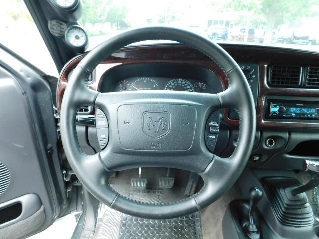 2002 Dodge Ram 2500 SLT Plus 4dr / 4X4 / Leather / 5.9L DIESEL / 6-SPD - Photo 20 - Portland, OR 97217