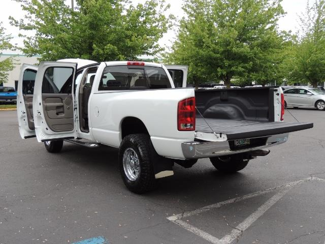2004 Dodge Ram 2500 SLT 4dr  / 4X4 / 5.9L CUMMINS DIESEL / 1-OWNER - Photo 27 - Portland, OR 97217