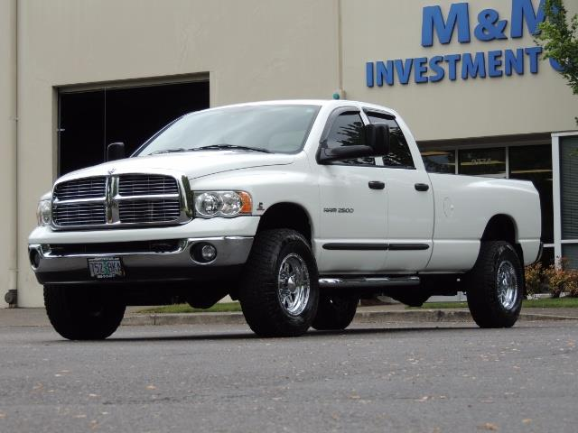 2004 Dodge Ram 2500 SLT 4dr  / 4X4 / 5.9L CUMMINS DIESEL / 1-OWNER - Photo 45 - Portland, OR 97217