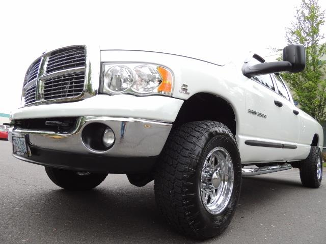 2004 Dodge Ram 2500 SLT 4dr  / 4X4 / 5.9L CUMMINS DIESEL / 1-OWNER - Photo 9 - Portland, OR 97217