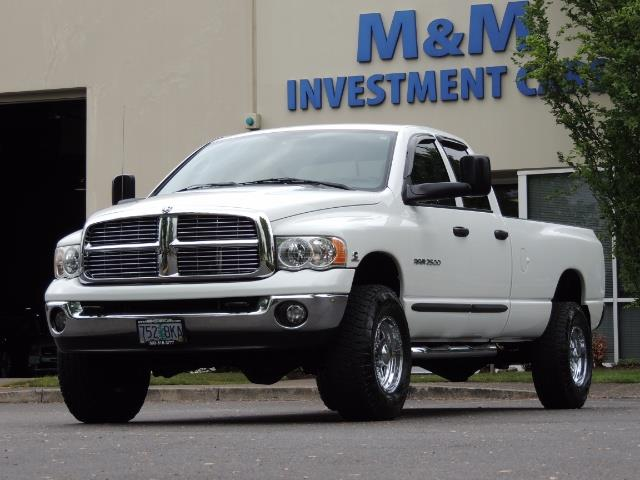 2004 Dodge Ram 2500 SLT 4dr  / 4X4 / 5.9L CUMMINS DIESEL / 1-OWNER - Photo 46 - Portland, OR 97217