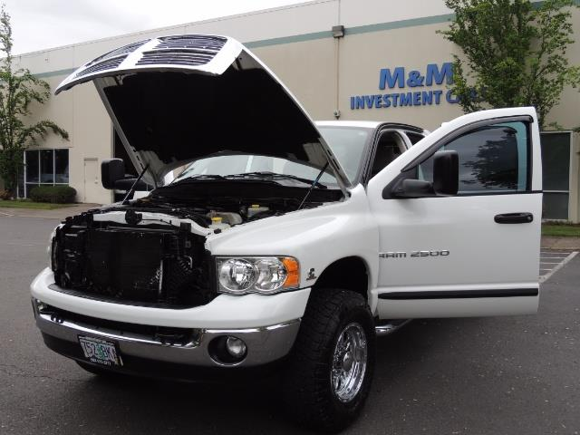 2004 Dodge Ram 2500 SLT 4dr  / 4X4 / 5.9L CUMMINS DIESEL / 1-OWNER - Photo 25 - Portland, OR 97217