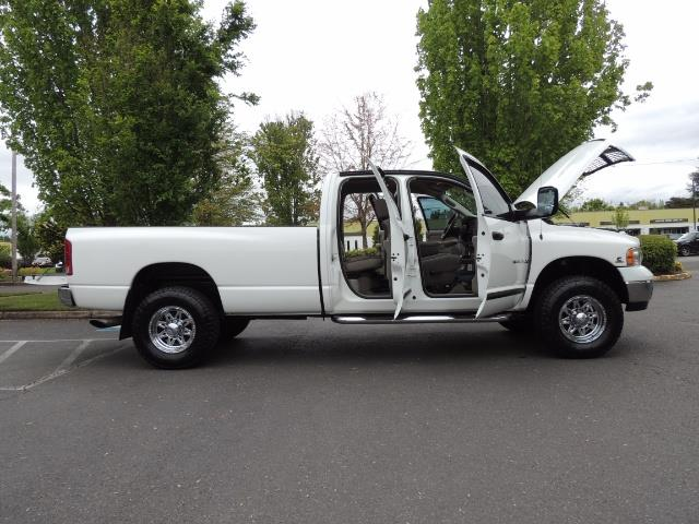 2004 Dodge Ram 2500 SLT 4dr  / 4X4 / 5.9L CUMMINS DIESEL / 1-OWNER - Photo 24 - Portland, OR 97217