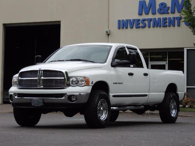 2004 Dodge Ram 2500 SLT 4dr  / 4X4 / 5.9L CUMMINS DIESEL / 1-OWNER - Photo 1 - Portland, OR 97217